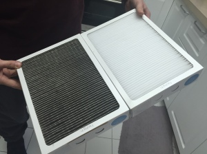 Air Filter--Before and After