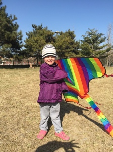 Daughter with Kite