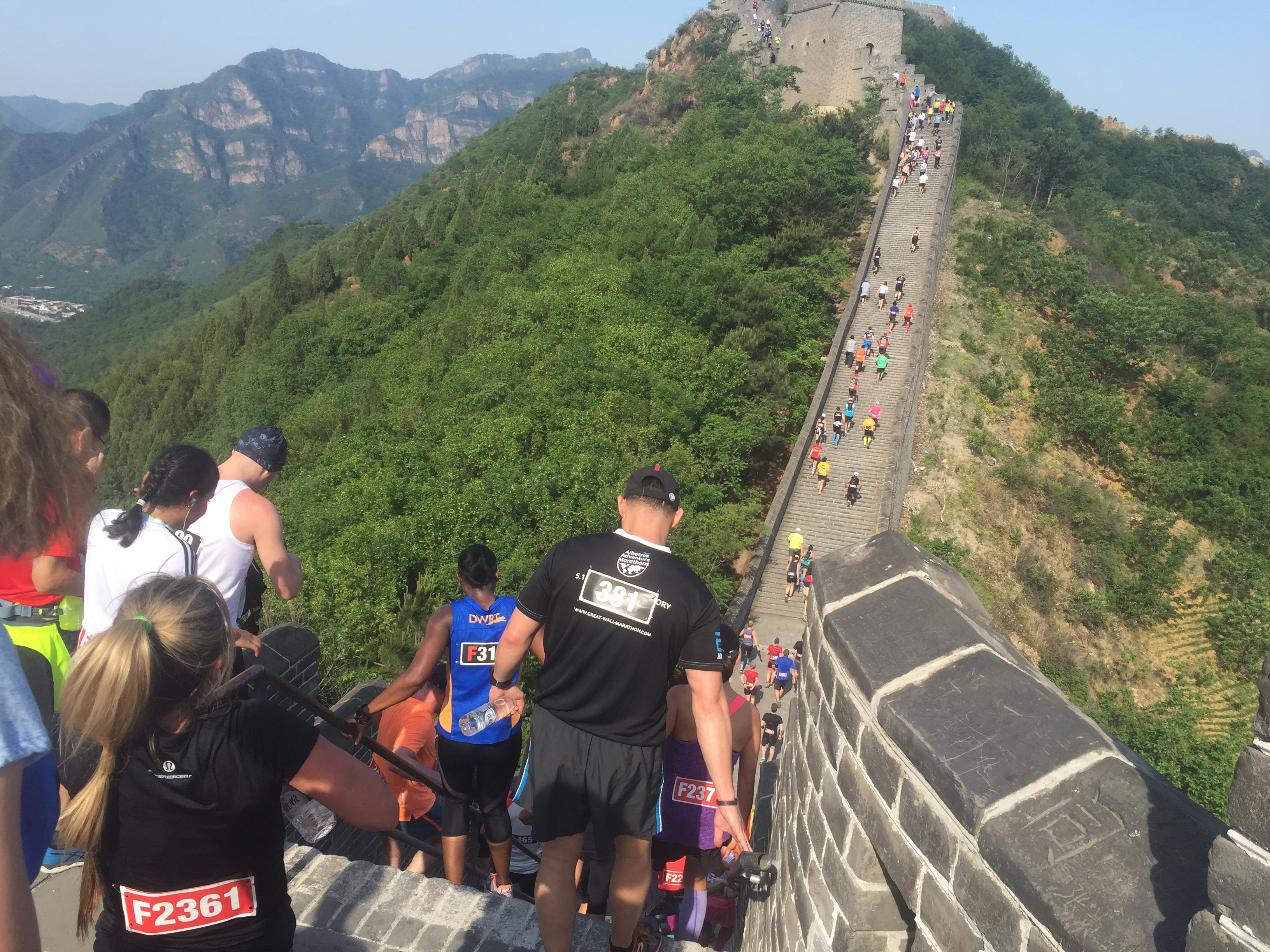 The Great Wall Half Marathon Lonna Hill - Great wall marathon