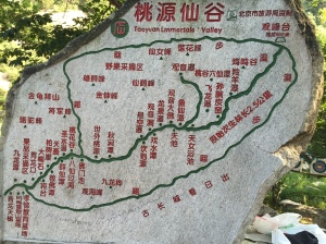 Taoyuan Valley Map