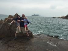 Hiking to Fisherman's Rock