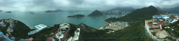 View of Hong Kong from Ocean Park Tower