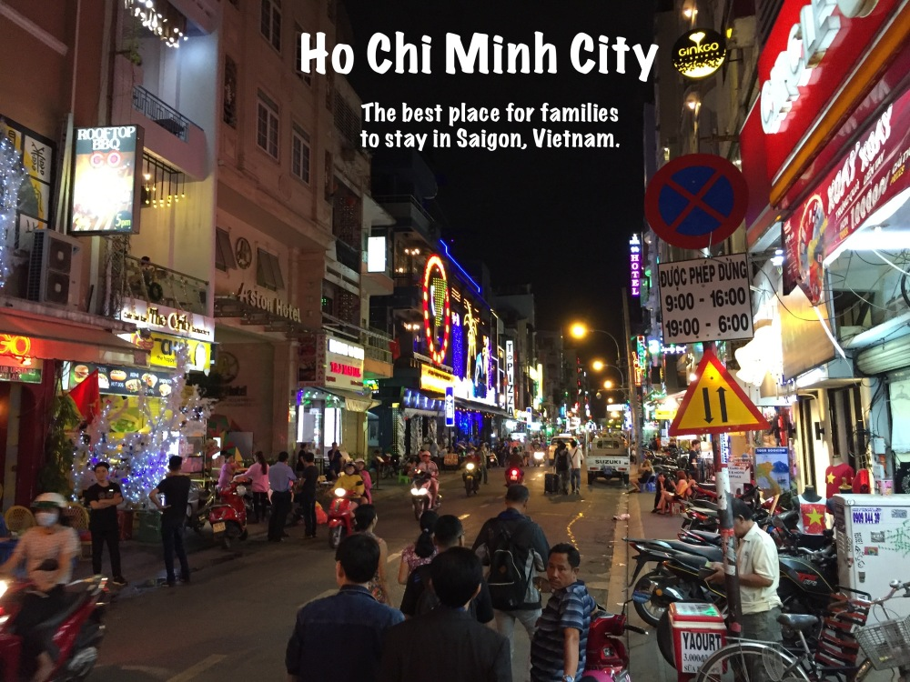 Saigon Street. Featured Image.